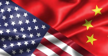 US-china-flags