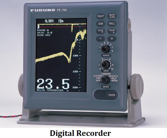 echo sounder digital recorder