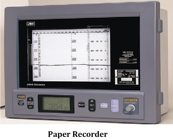 echo sounder paper recorder