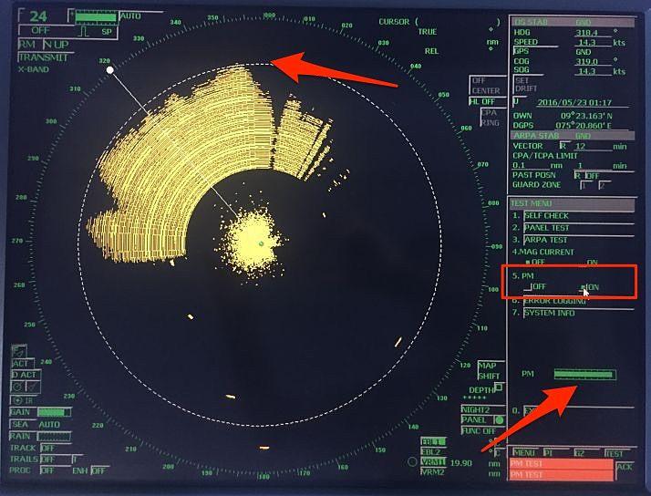 radar Performance-monitor-test