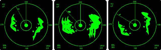 radar cu display