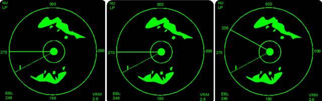 radar nu display